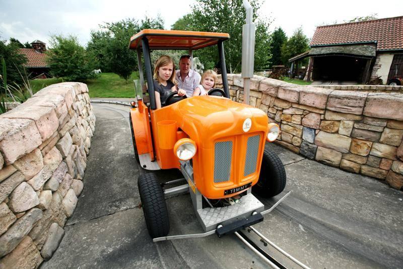 The Sundown Adventure Land Tractor Ride By Garmendale 5