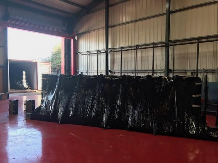 1 When We Pack Things We Pack Them Well Here Are The Gates Wrapped And Ready To Go 700x525 1